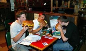 американцы едят
