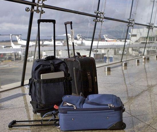 багаж в США фото