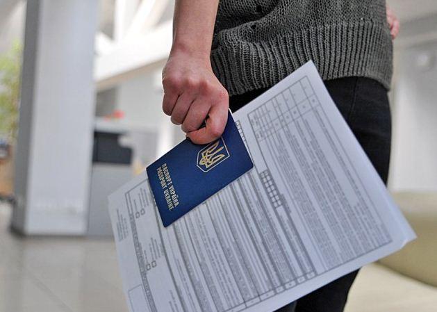 документы на визу фото