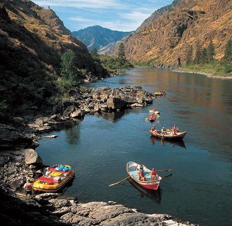 адский каньон айдахо
