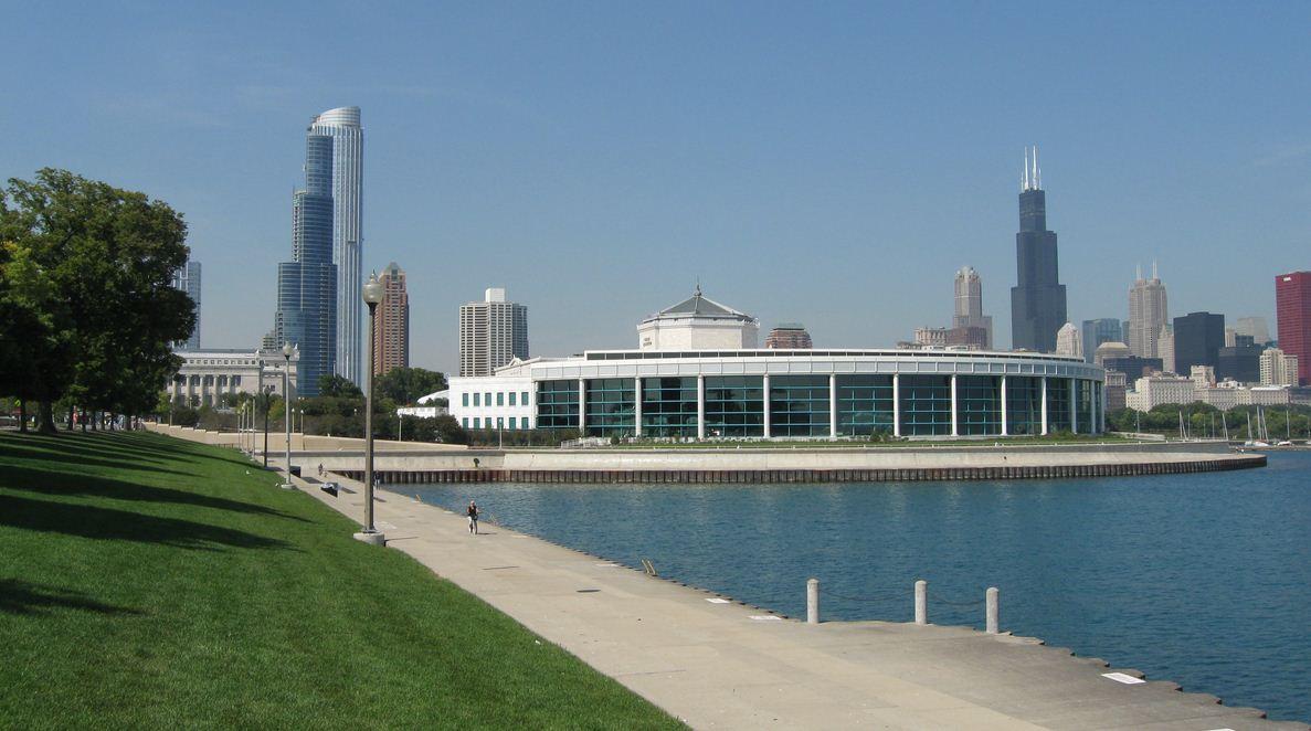 Аквариум Шедда в Чикаго фото