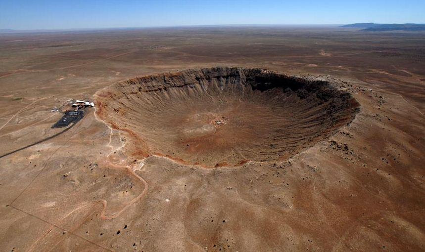 Аризонский кратер США фото