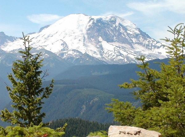 Гора Rainier сша