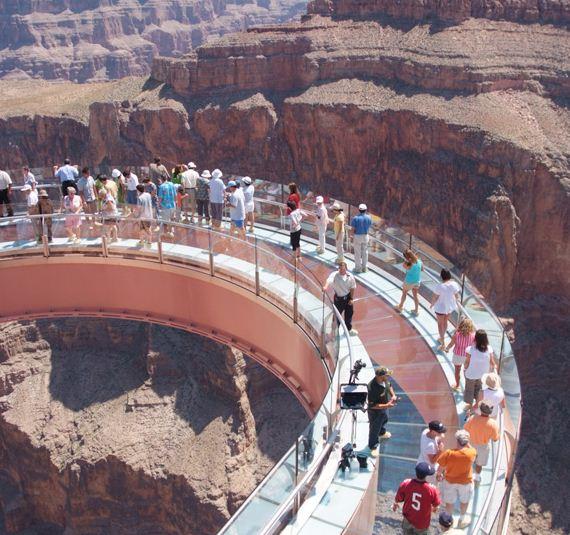 большой каньон площадка
