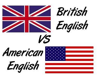 британский и американский язык фото