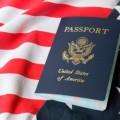 фото американского паспорта
