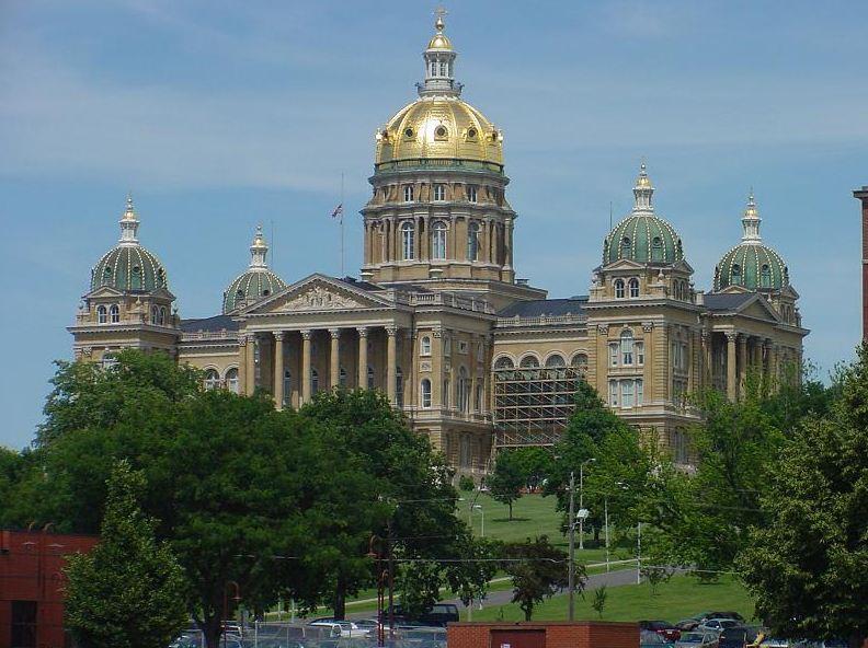 Капитолий Айова США фото