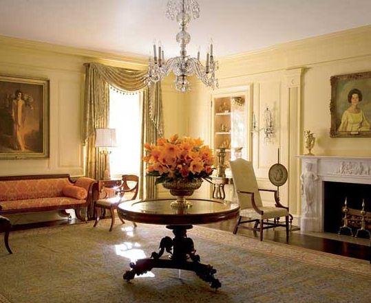 комната белого дома в америке