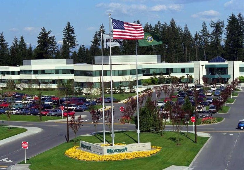 офис компании майкрософт