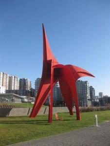 скульптуры в городе сиэтл