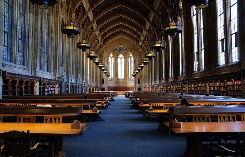 Внутри университета Вашингтона США