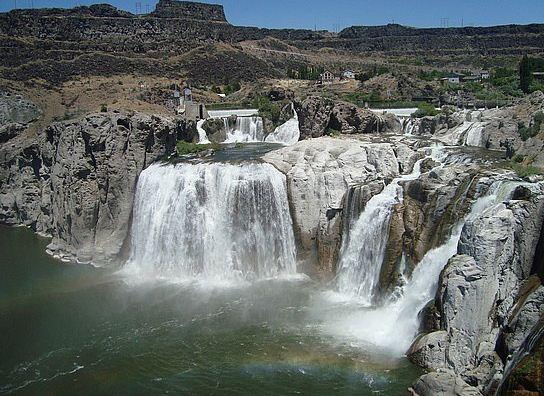 водопады Шошони фото