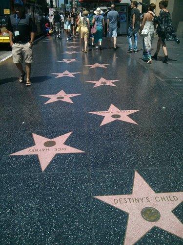 звезды на Аллее славы фото
