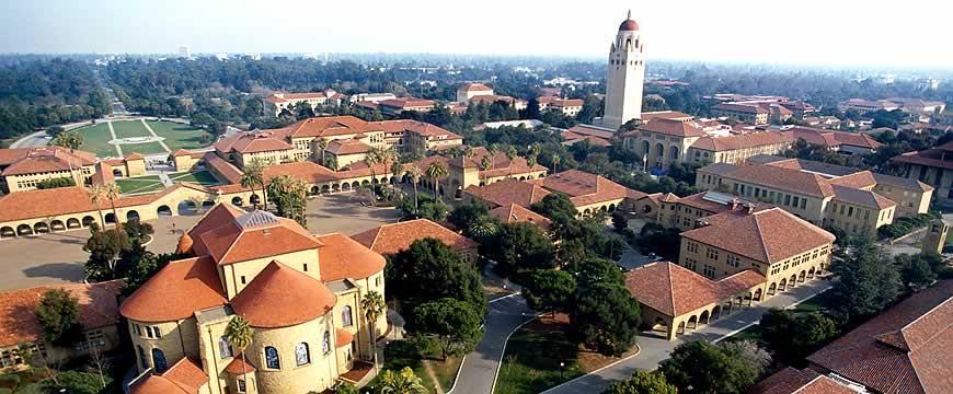 кампус университета Стэнфорда фото