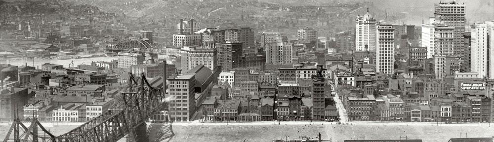 Питтсбург сша старое фото