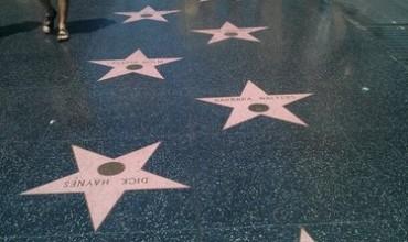 Голливудская Аллея славы в Лос-Анджелесе