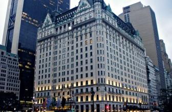 Элитный отель Плаза в Нью-Йорке